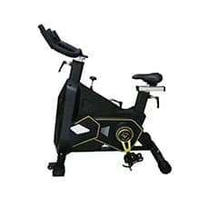 An image of - Active Gym Carbon Spinning Bike on a white background