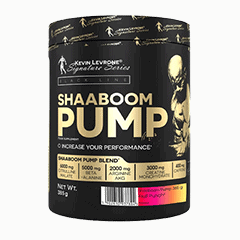 Vector image with the Shaboom Pump Large from the Levrone Black Line