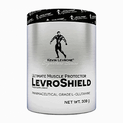 Vector image with the LevroShield from the Levrone Signature Series
