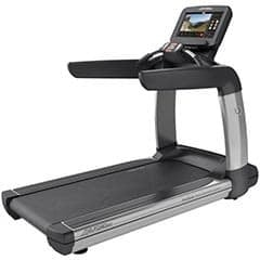 An image of Life Fitness TreamMill Elevation Series 95T Discover SE on a white background