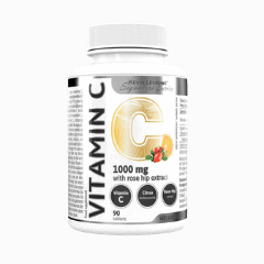 Vector image with the Levrone Vitamin C from the Levrone Wellness Series