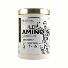 Vector image with the Levrone Gold Amino from the Levrone Gold Series