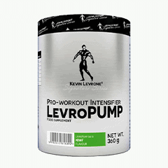 Vector image with the LevroPUMP from the Levrone Signature Series