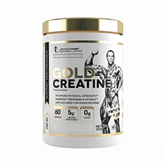 Vector image with the Levrone Gold Creatine from the Levrone Gold Line