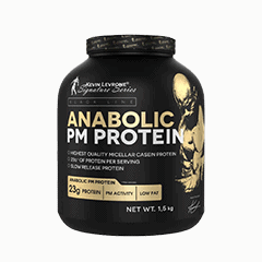 Vector image with the Anabolic PM Proetein from the Levrone Black Line