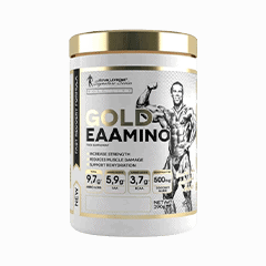 Vector image with the Levrone Gold Amino from the Levrone Gold Line