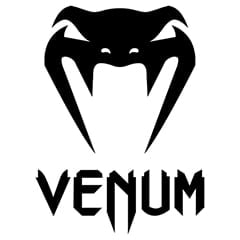Venum Official Logo, in black colour on White Background