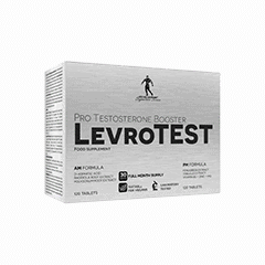 Vector image with the LevroTEST from the Levrone Signature Series