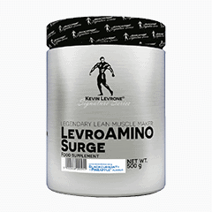 Vector image with the LevroAmino Surge from the Levrone Signature Series