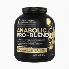 Vector image with the Anabolic Pro Blends from the Levrone Black Line