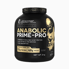 Vector image with the Anabolic Prime Pro from the Levrone Black Line